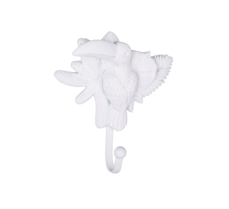 White Animal Wall Hooks