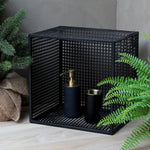Black Wall Storage Box