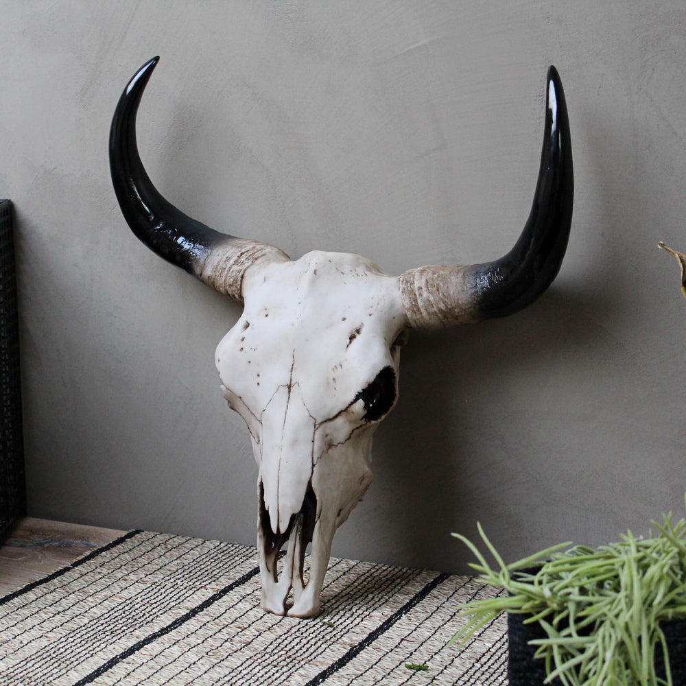 Large Decorative Bison Head