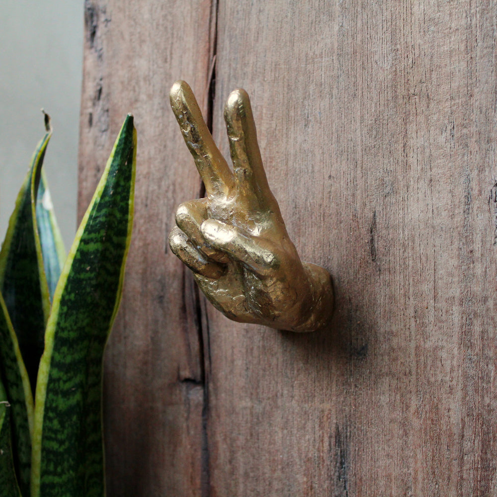 'Peace' Wall Hook