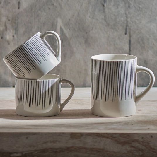 Karuma Ceramic Mugs - Set of 2