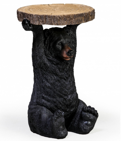 Grizzly Bear Side Table