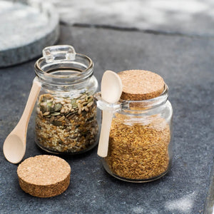 Sprinkle Jars with Spoon - Set of 2