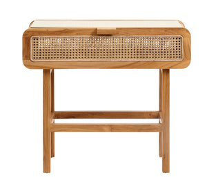 Rattan Console Table - Natural