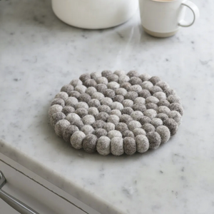 Fairtrade 'Nepal' Trivet in Grey