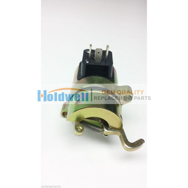 Stop solenoid for Bobcat 863  864  873  883  A220  A300  S250  T200  442    6686715
