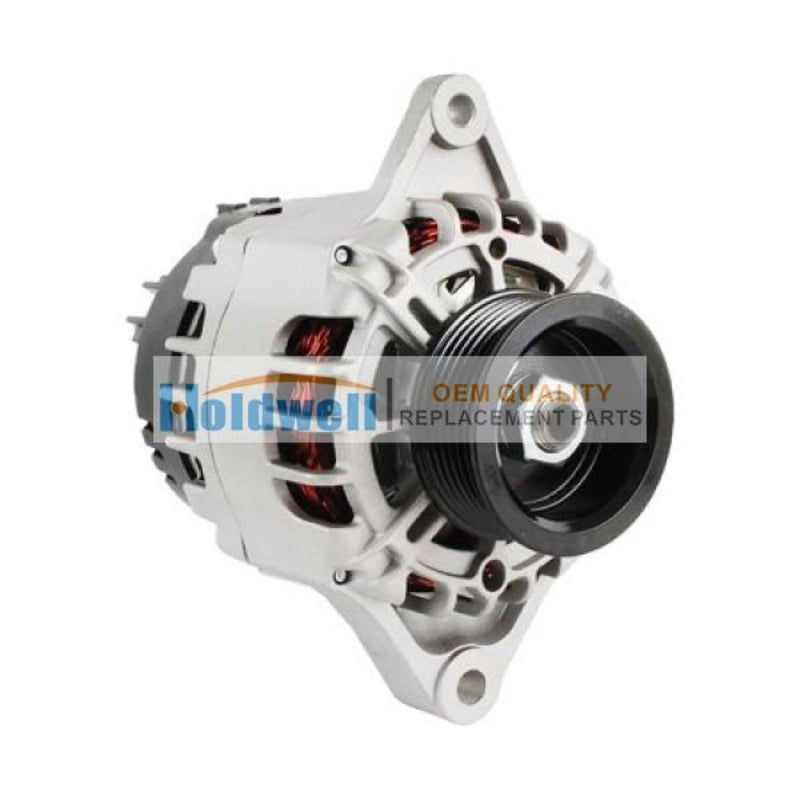Holdwell Replacement 12V Alternator 30-01114-10 For Carrier Supra 444 450