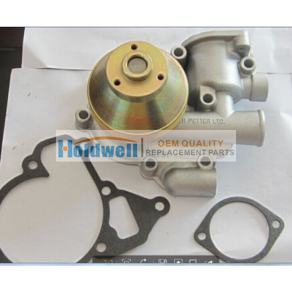 Holdwell high quality water pump 750-40627 for LPWS4 engine
