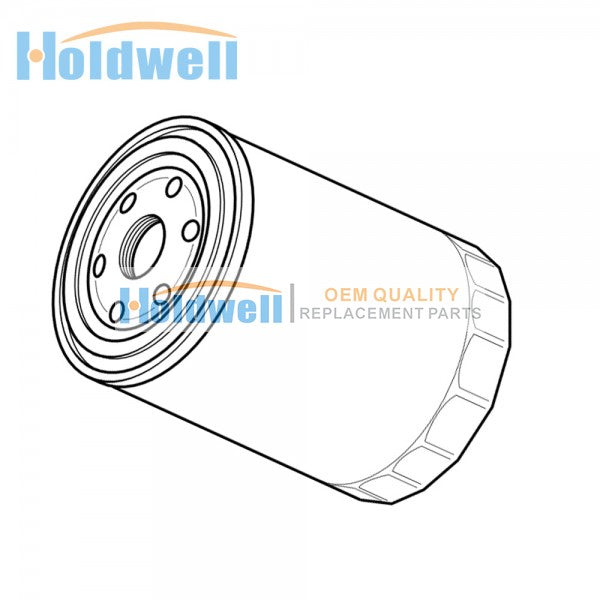 Holdwell RE59754 oil filter for SDMO J66K J60U J77K J70U J88K J80U J110K J100U J70UM with John Deere 4045 TF HF120 TF220