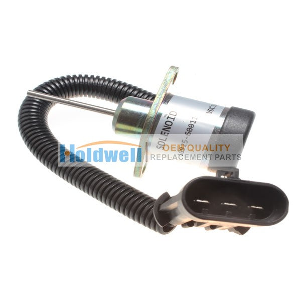 Holdwell Solenoid 6691498 for Bobcat B300, BL370, 325, 328, 329, 331, 334, 335, 337, 341, 430, 435