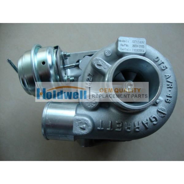 HOLDWELL Turbocharger 28231-27900 729041-0009 for Hyundai GT1749V
