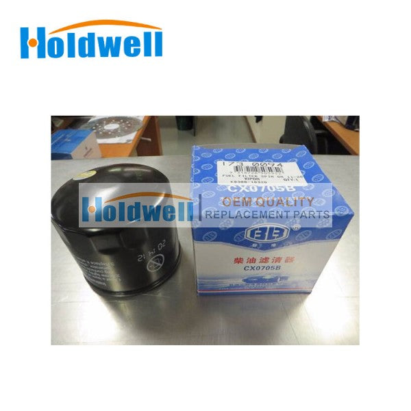 HOLDWELL FUEL FILTER SPIN KD388-10320 For  KDE11SS, KDE13SS, KDE16SS, KDE20SS and Kipor KD388 and KD488 Engines