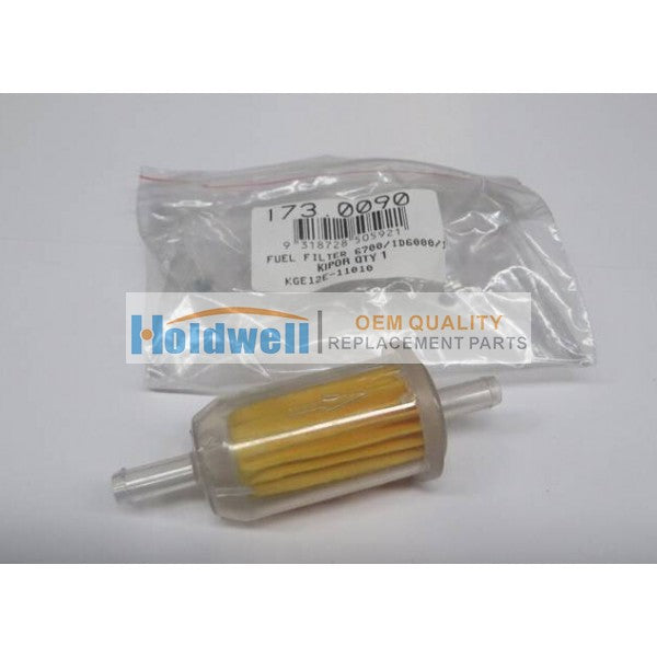 HOLDWELL FUEL FILTER 6700/TA3/12000 KDE6700TA FOR for Kipor KDE6700TA, ID6000, 12000