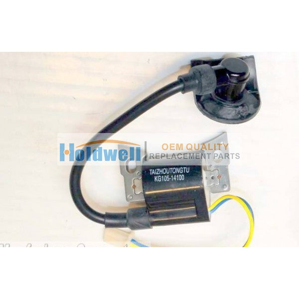 HOLDWELL Kipor Ignition Coil KG105-14100  for GS2000 GS2600 and IG2000 IG2600 Portable Generators