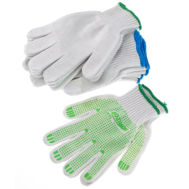 Horizon Cotton Garden Gloves 6 pack