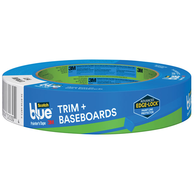 Scothblue Painter's Tape- Trim & Baseboards 24mm Blue