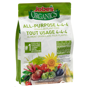 Jobes Organics All Purpose 4-4-4 Granules 8lb