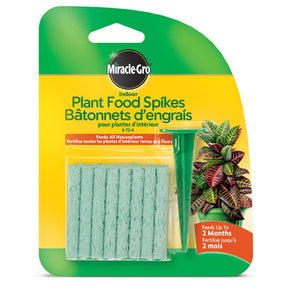 Miracle Gro Plant Food Spikes