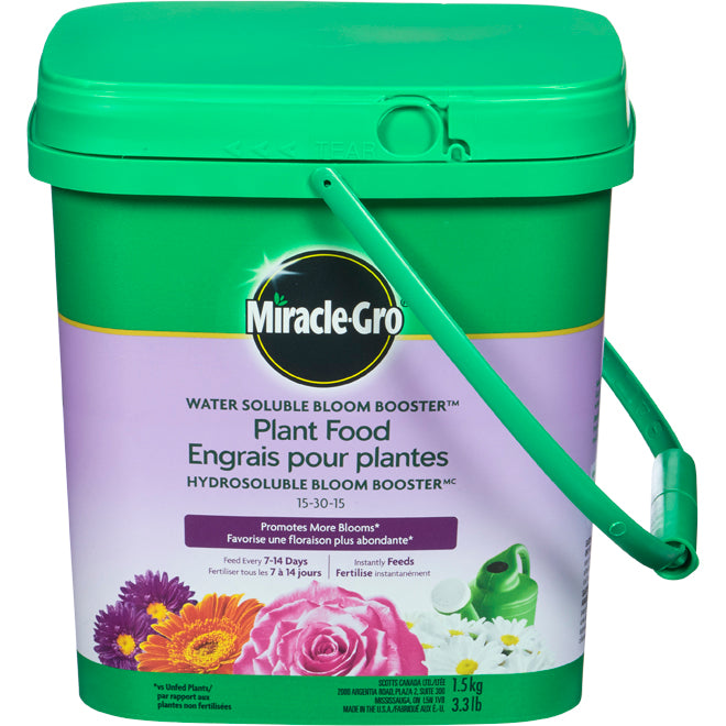Miracle Gro Bloom Booter FERTILIZER 1.5kg