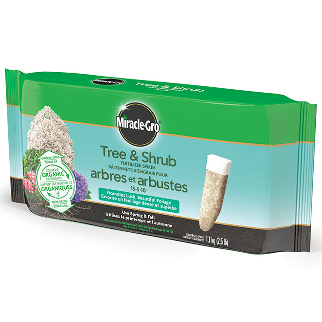 Miracle Gro Tree & Shrub Fertilizer Spikes 10 pack