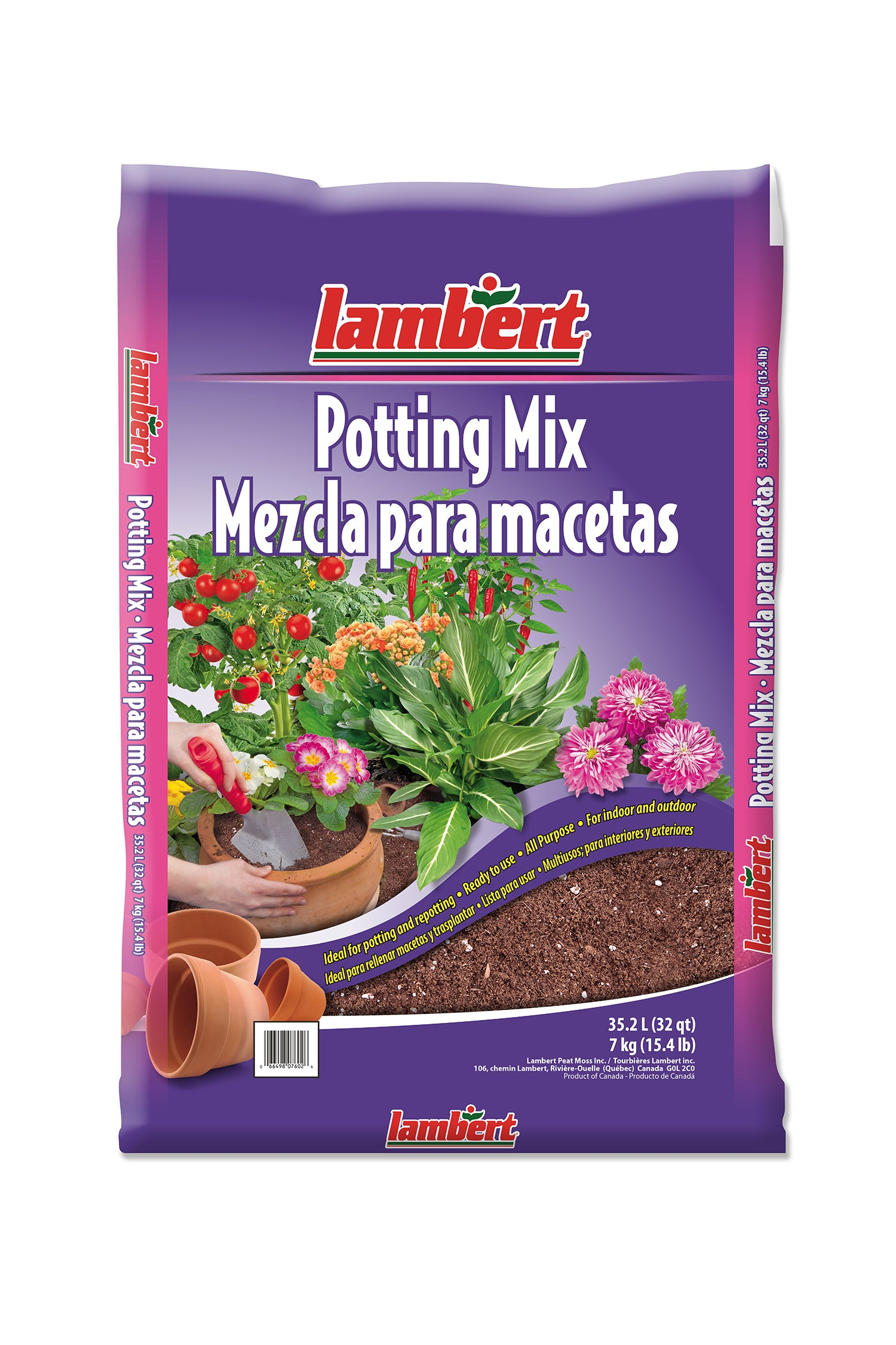 Lambert All Purpose Potting Mix - 2.0 cu ft (56.6L)