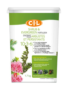 C-I-L Shrub & Evergreen Fertilizer 10-3-6 1.7kg