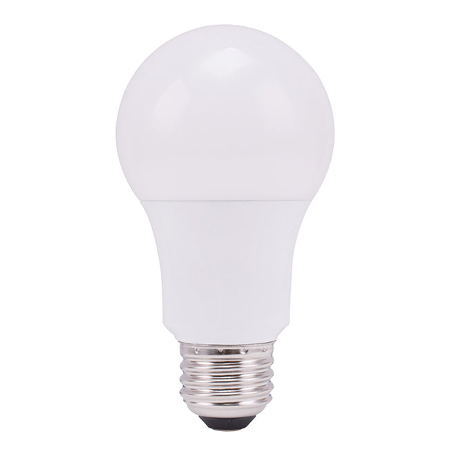 GE LED Bulb - A19 - 8.5 W - Plastic - Day Light - 8-Pack