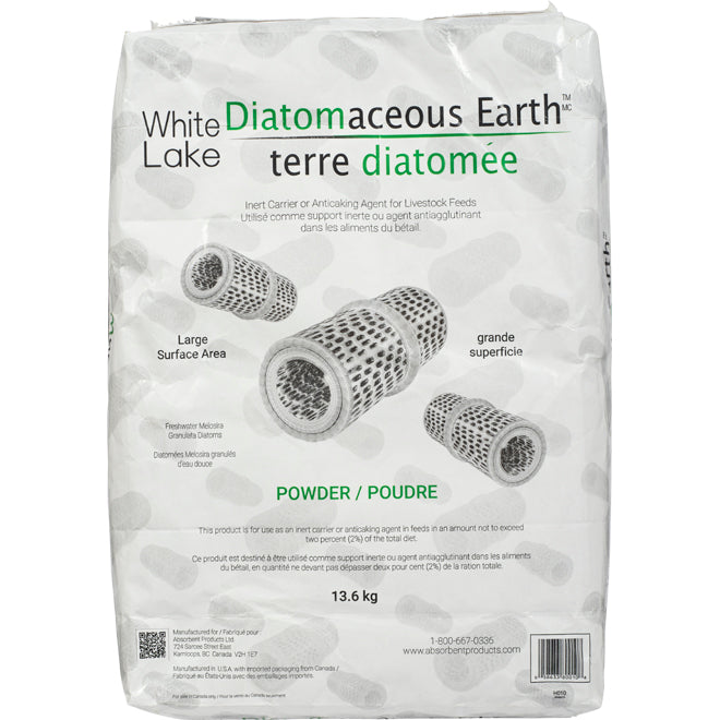 White Lake Diatomaceous Earth 13.6 kg