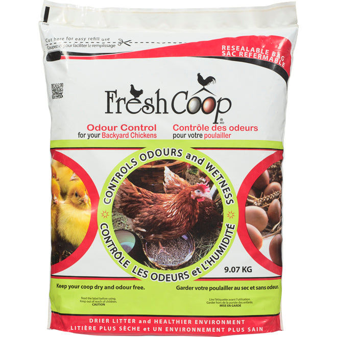 Fresh Coop - Poultry Deodorizer - Odour Control - 20 Lb