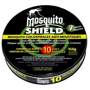 Mosquito Shield Mosquito Coils 10 pack