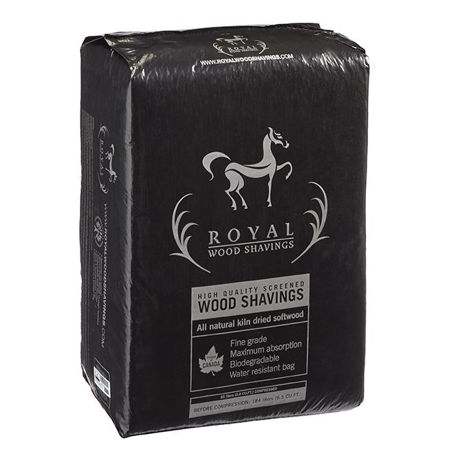 Royal High Quality Screened Wood Shavings - Fine 85L