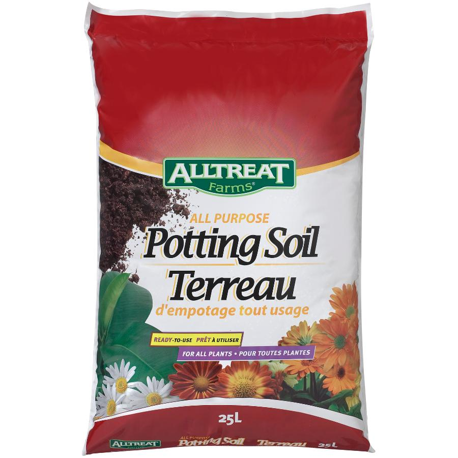 AT All Purpose Potting Soil  – 25L
