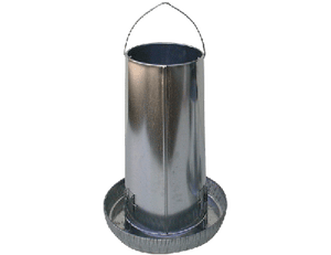 Galvanized Poultry Feeder 50lb