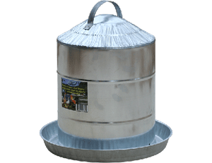 Galvanized Poultry Fountain 8 gal