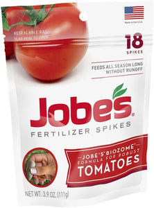 Jobe's Fertilizer Spikes For Tomatoes 18's