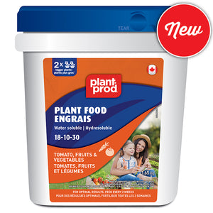 Plant-Prod 18-10-30  Tomato, Fruit & Vegetable Water Soluble Plant Food 1.65 kg