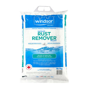 WINDSOR  Rust Remover Water Softener Salt Pellets - 18.1 kg