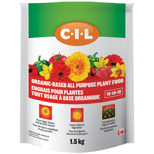 C-I-L Organic Based All Purpose Plant Food 10-10-10 5kg