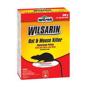 Wilso's Wilsarin Rat & Mouse Killer 900g