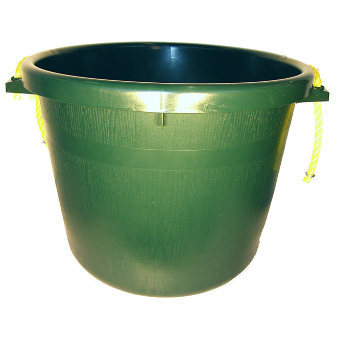 Muck Bucket - Rubber Polymer - 66 L - Hunter Green