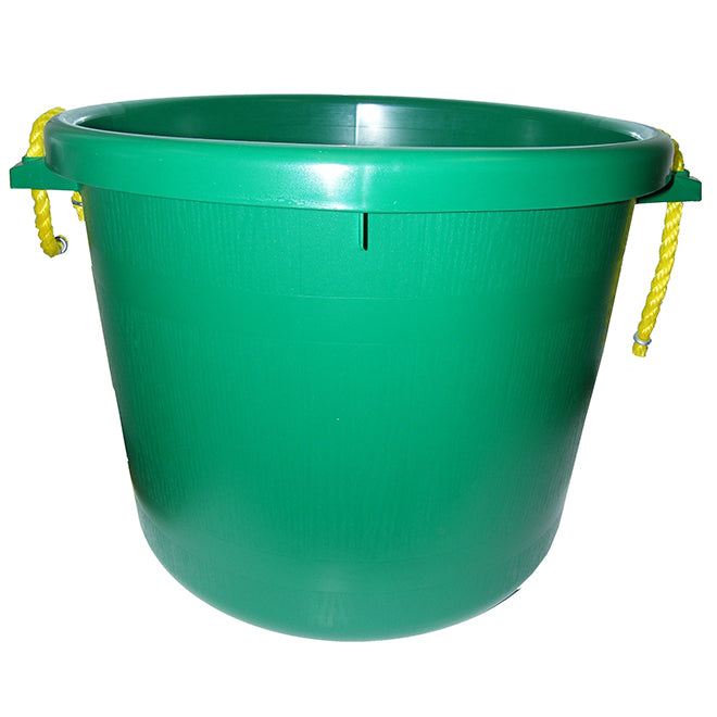 Muck Bucket - Rubber Polymer - 66 L - Green