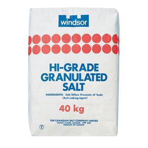 Hi-Grade Granulated Salt - 40 kg
