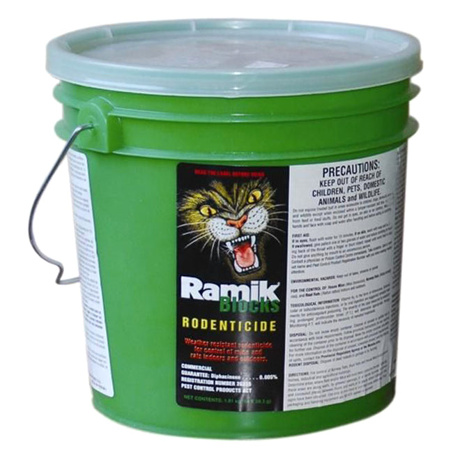 Ramik  Rodenticide - Ramik Green Rodenticide - 28.3 g - 64 Bars