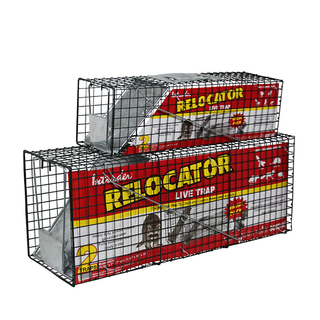 Intruder Live Trap Cage 2 Pack Combo
