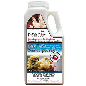 Fresh Coop - Poultry Dust Bath - 6 lbs