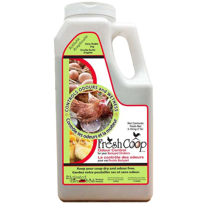 Fresh Coop - Poultry Deodorizer - Odor Control - 3.18 kg