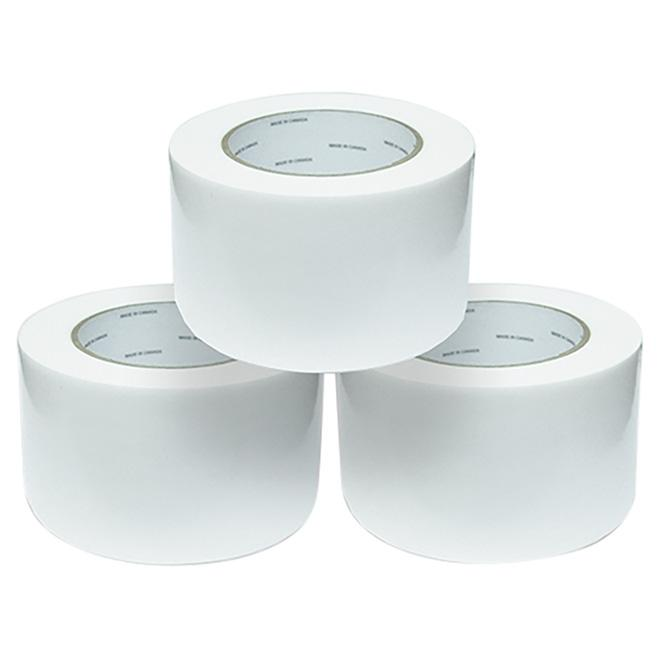 "Vinyl Silage Film Repair Tape - White - 3"" x 100'"