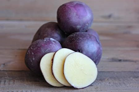 Seed Potato - Huckleberry Gold - Low Glycemic - Sold by the Pound