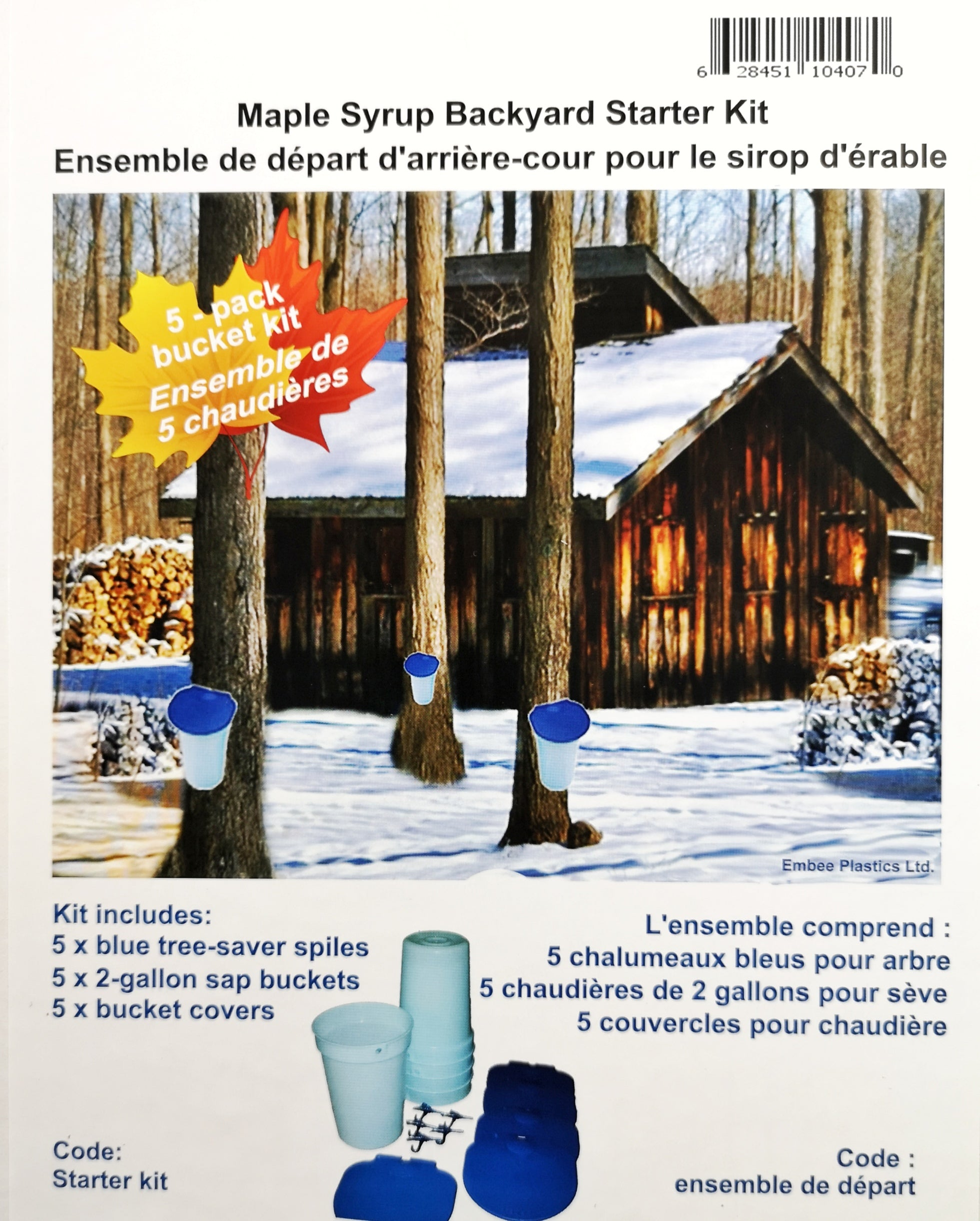 Maple Syrup Backyard Starter Kit