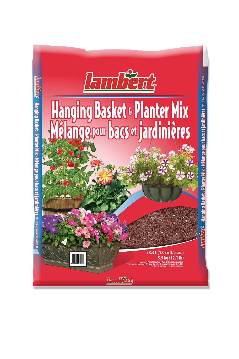 Lambert Hanging Basket and Planter Mix - 28.3L